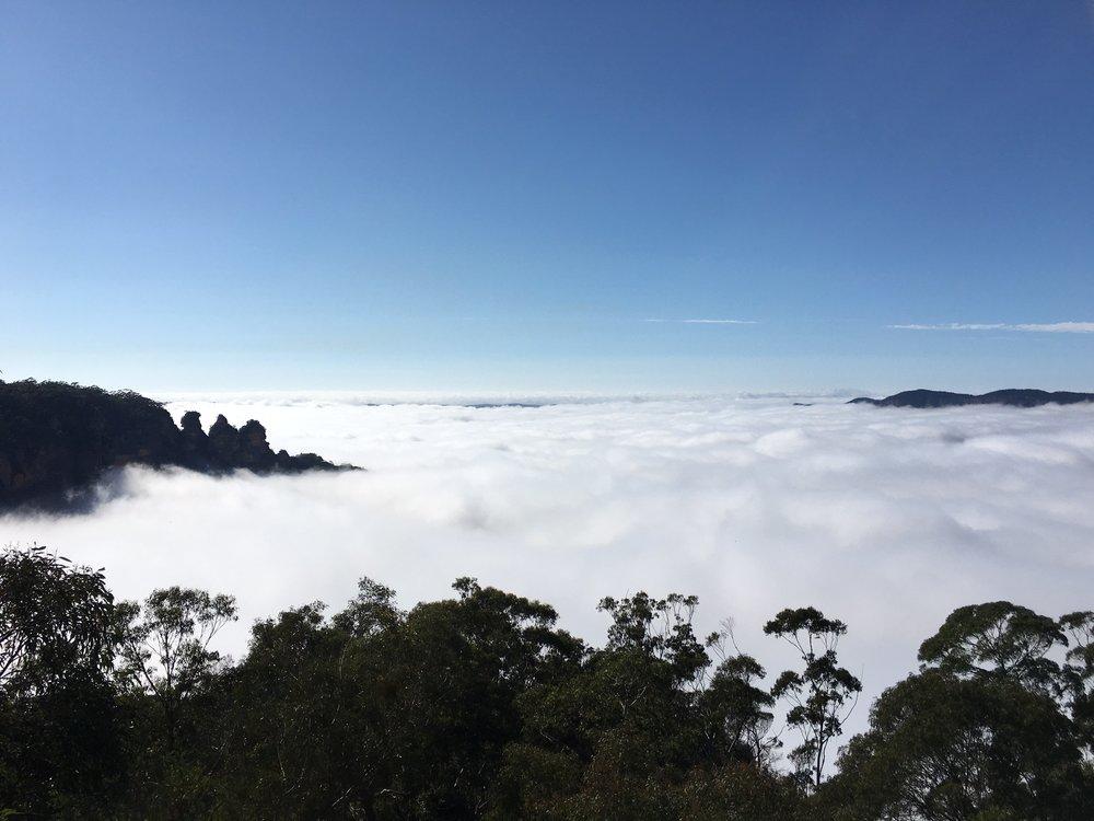 The 3-Sisters Blue Mountains, Australia. Heaven on Earth!