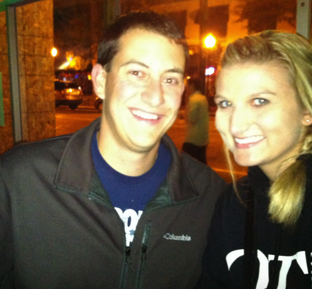 David and I met in September of 2013. Our first date was at Harvey's Grill & Bar in Saginaw, MI.