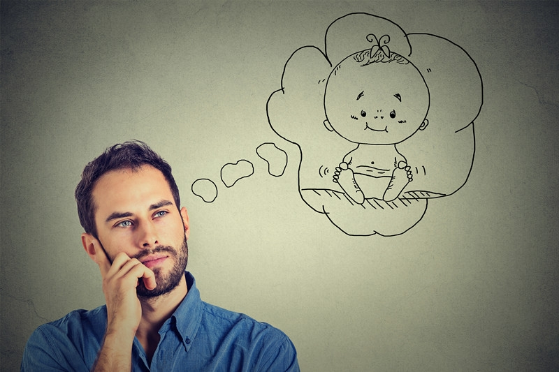 Men dream of having children too, and infertility can be just as difficult for them.