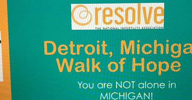 There's still time to register, donate, sponsor for Michigan's 1st ever #Infertility #WalkOfHope because NO ONE should walk alone! give.classy.org/detroitWOH. #infertilityuncovered #infertilityawareness #NIAW #theinfertilityadvocate