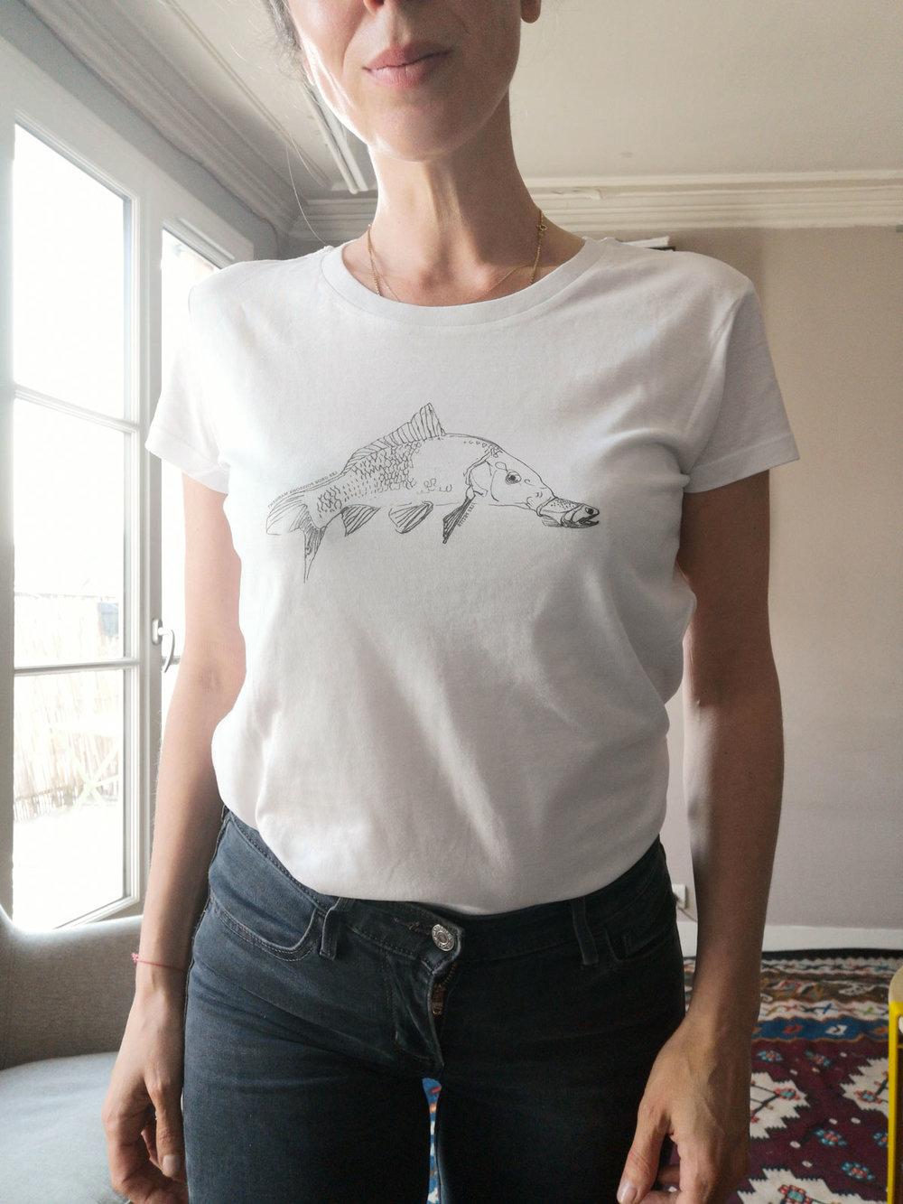 T-shirt  Poisson