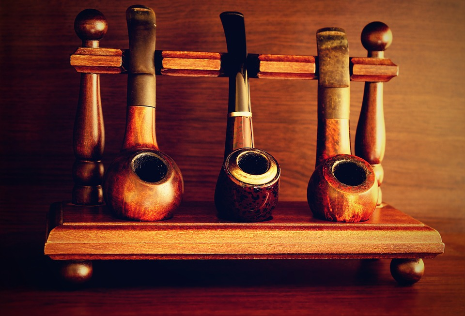 Wooden Hand Made Pipe