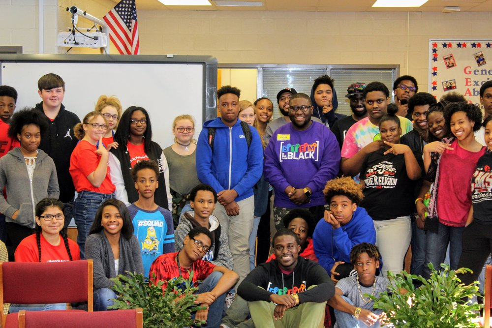 STEM Is The New Black x Veterans Memorial Middle School (Covington, GA)