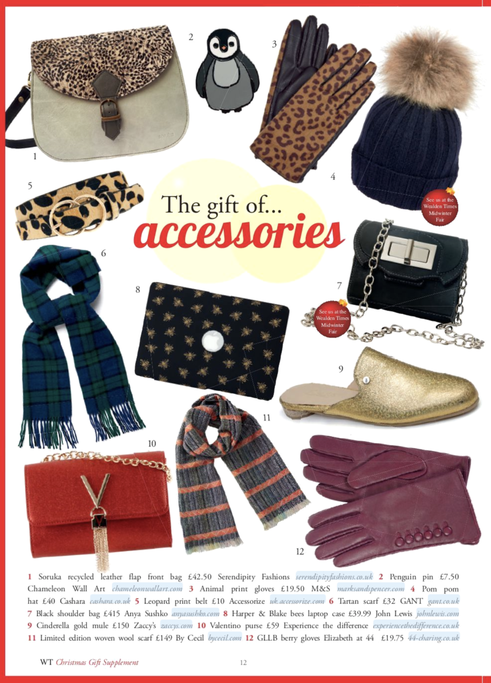 The gift of accessories