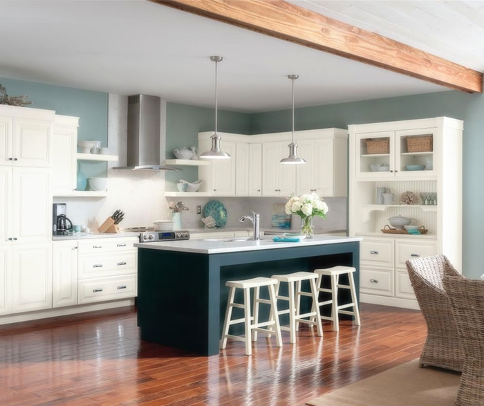 white_glazed_cabinets_blue_kitchen_island.jpg