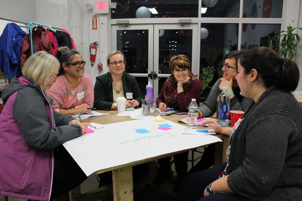 Innovative Educator - Join a cohort of educators working together to bring design thinking and project-based learning to students across Rhode Island. Imagine the possibilities for your classroom. Keep an eye out for our next call for applications!