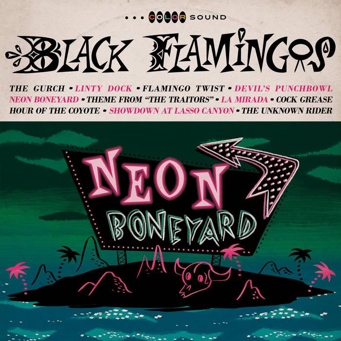 6/23 Black Flamingos & Yawn Mower