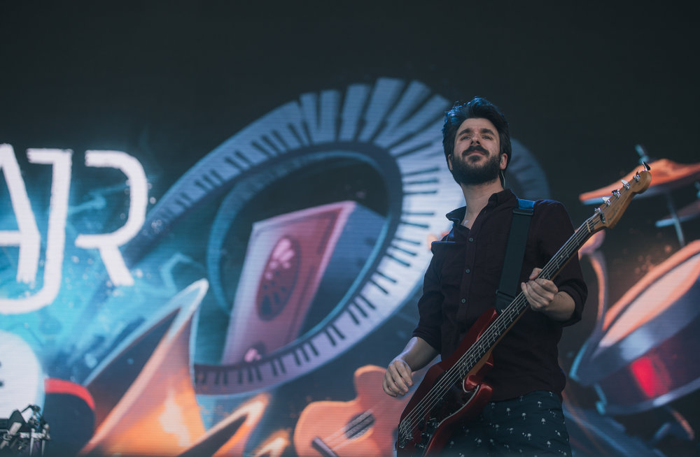 Laura Ord Photography | Austin, TX Concert Photography | AJR at Hangout Music Fest in Gulf Shores, AL
