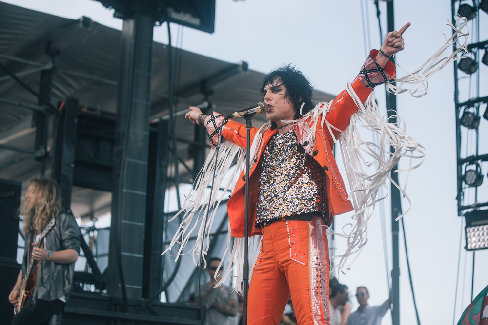 Laura Ord Photography | Austin, TX Concert Photography | The Struts at Hangout Music Fest in Gulf Shores, AL