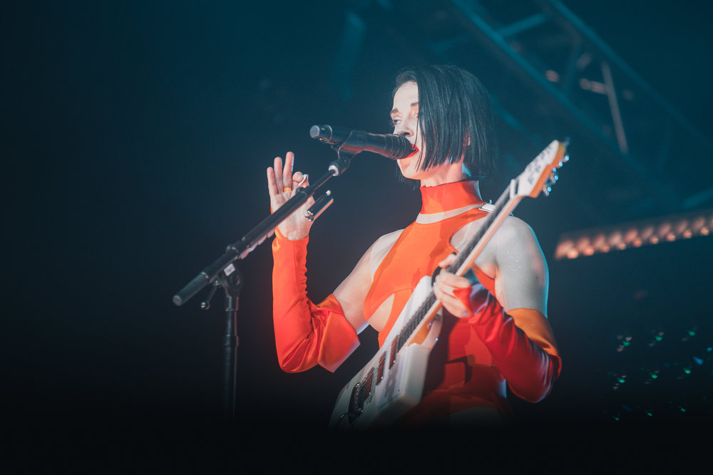 Laura Ord Photography | Austin, TX Concert Photography | St. Vincent at Hangout Music Fest in Gulf Shores, AL