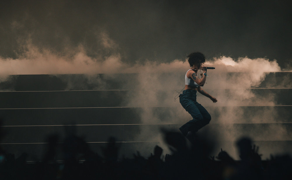 Laura Ord Photography | Austin, TX Concert Photography | Halsey at Hangout Music Fest in Gulf Shores, AL