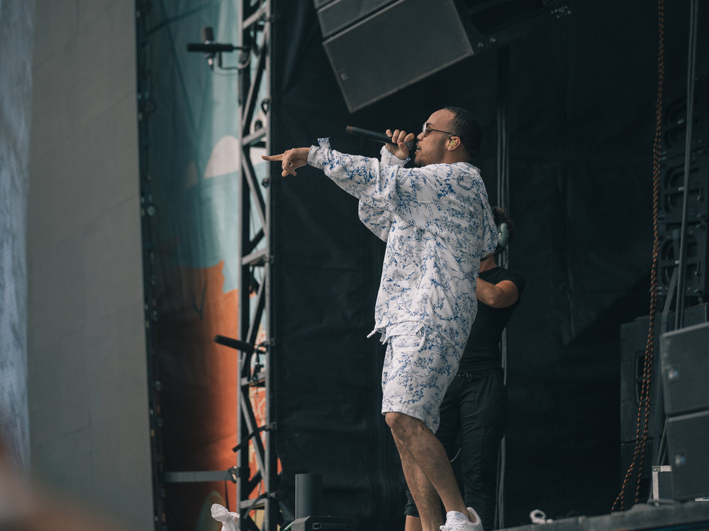 Laura Ord Photography | Austin, TX Concert Photography | Anderson .Paak at Hangout Music Fest in Gulf Shores, AL