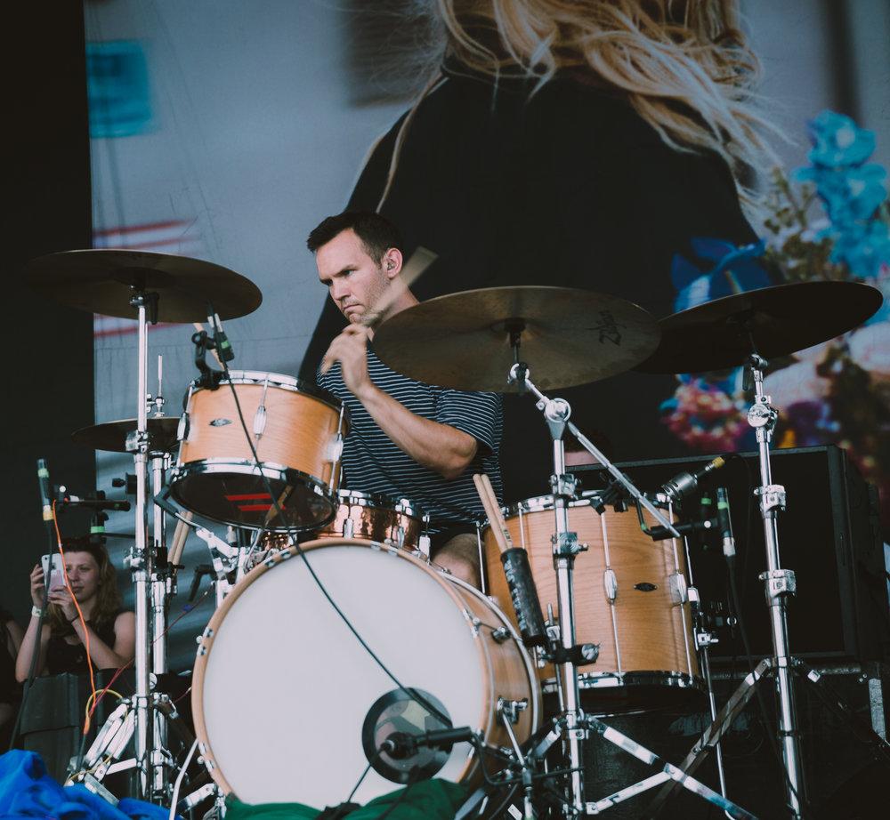 KNUCKLE PUCK PERFORMING AT VAN'S WARPED TOUR IN SAN ANTONIO, TX ON JULY 07, 2018.