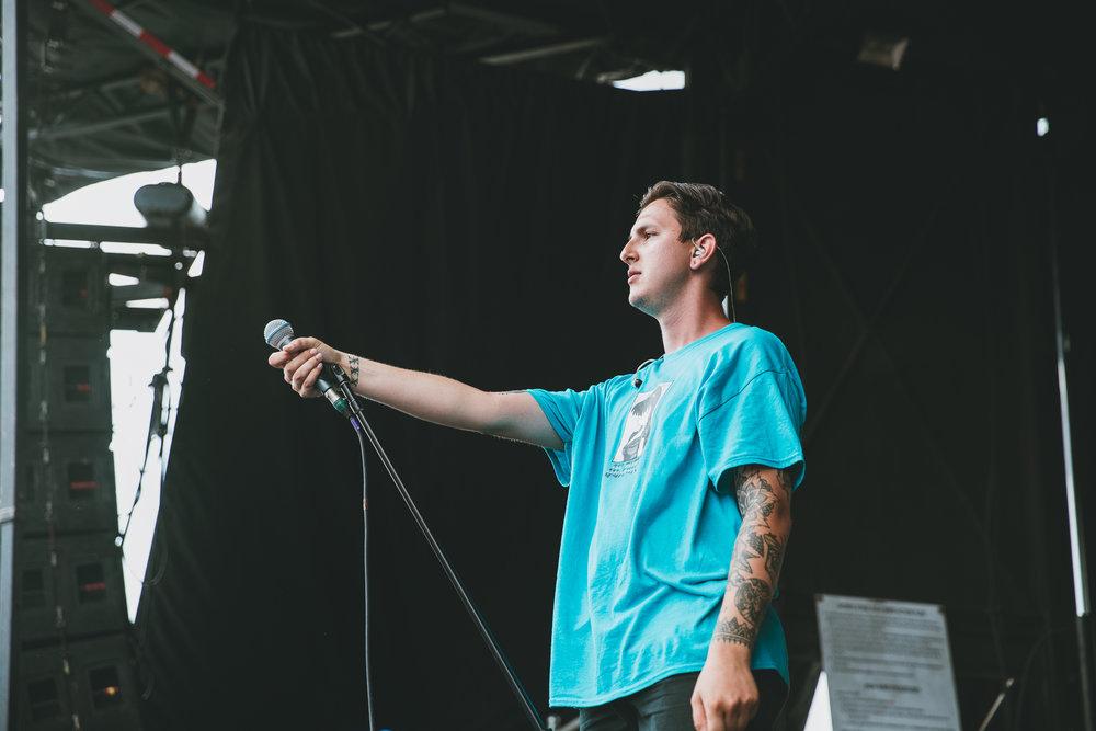 MOVEMENTS PERFORMING AT VAN'S WARPED TOUR IN SAN ANTONIO, TX ON JULY 07, 2018.
