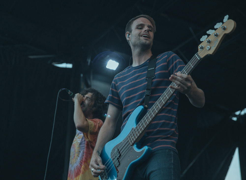 REAL FRIENDS PERFORMING AT VAN'S WARPED TOUR IN SAN ANTONIO, TX ON JULY 07, 2018.