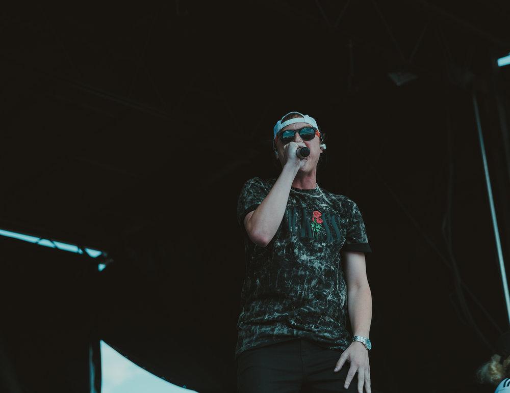 STATE CHAMPS PERFORMING AT VAN'S WARPED TOUR IN SAN ANTONIO, TX ON JULY 07, 2018.