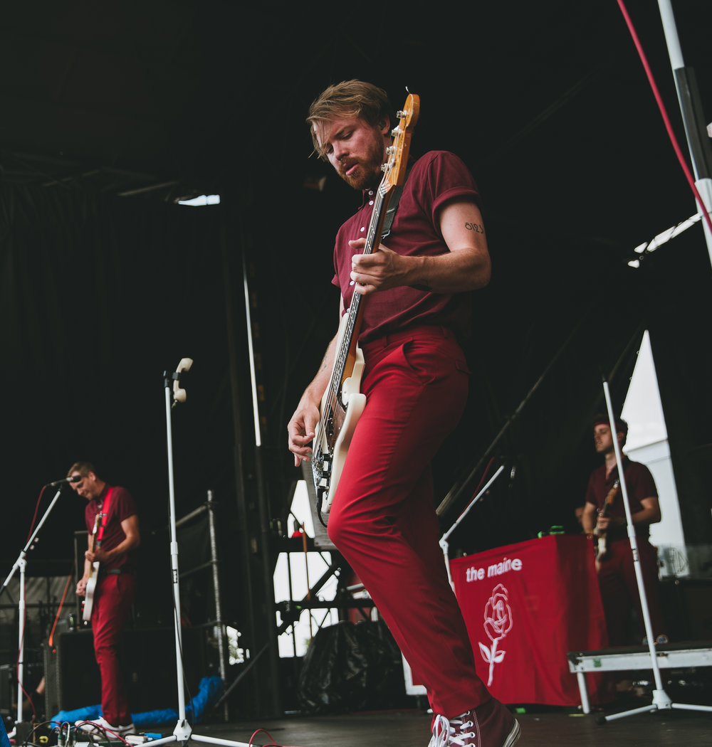 THE MAINE PERFORMING AT VAN'S WARPED TOUR IN SAN ANTONIO, TX ON JULY 07, 2018.