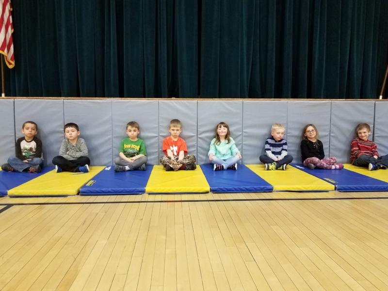 Kindergarten learning self space