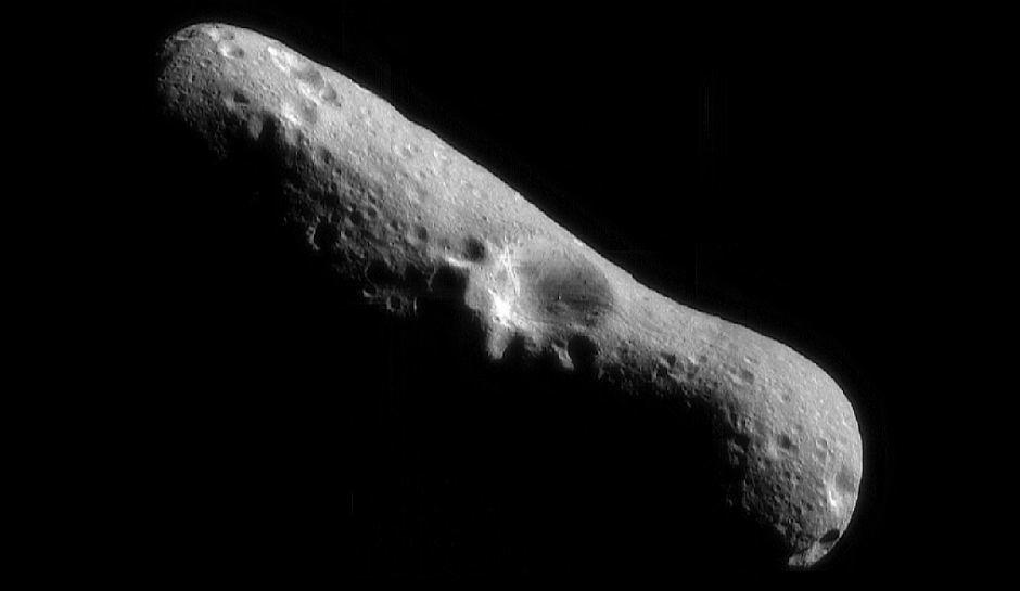Actual photo of asteroid Florence Courtesy Photo/NASA