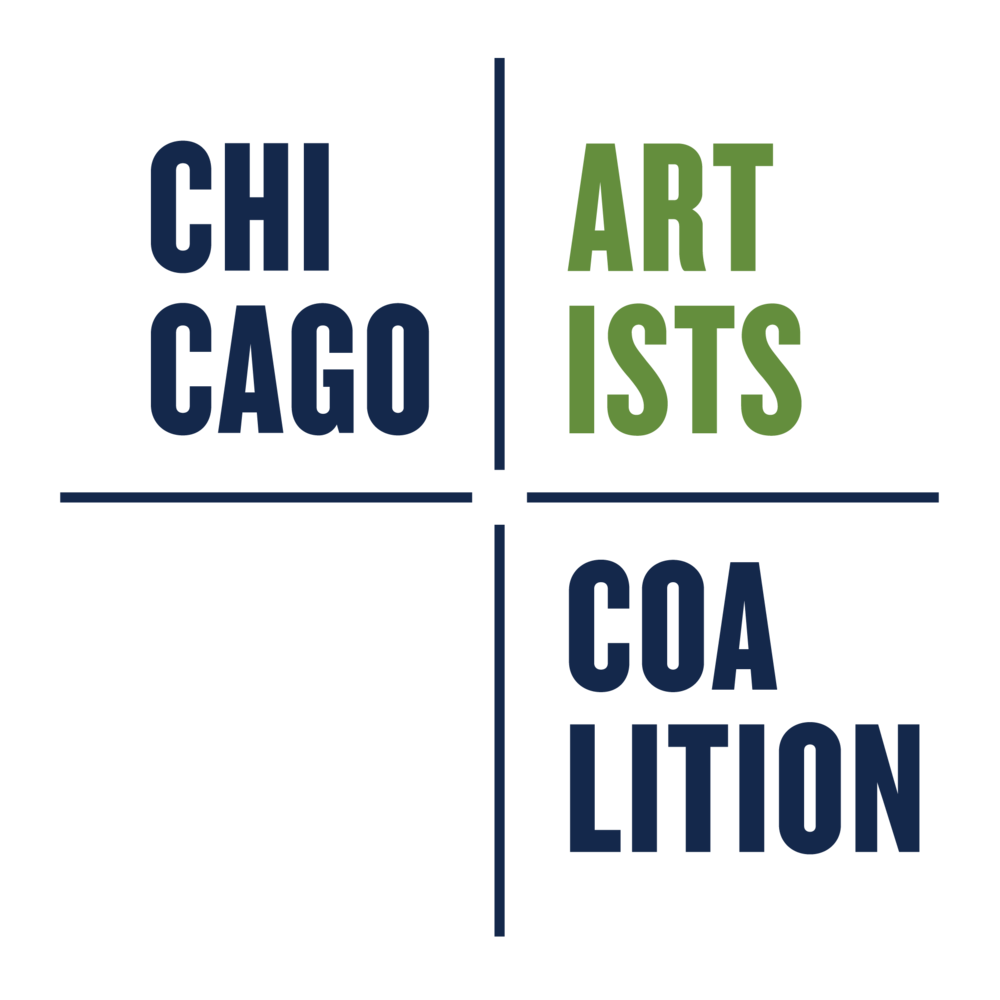About CAC: - The mission of the Chicago Artists Coalition is to build a sustainable marketplace for entrepreneurial artists and creatives.As pioneers in advocacy and professional development, we capitalize on the intersection of art and enterprise by activating collaborative partnerships and developing innovative resources. The Chicago Artists Coalition is committed to cultivating groundbreaking exhibitions and educational opportunities, and to building a diverse community of artistic leaders that defines the place of art and artists in our culture and economy. The Chicago Artists Coalition is a registered 501(c)3 nonprofit organization. All contributions and donations are tax deductible to the fullest extent of the law.