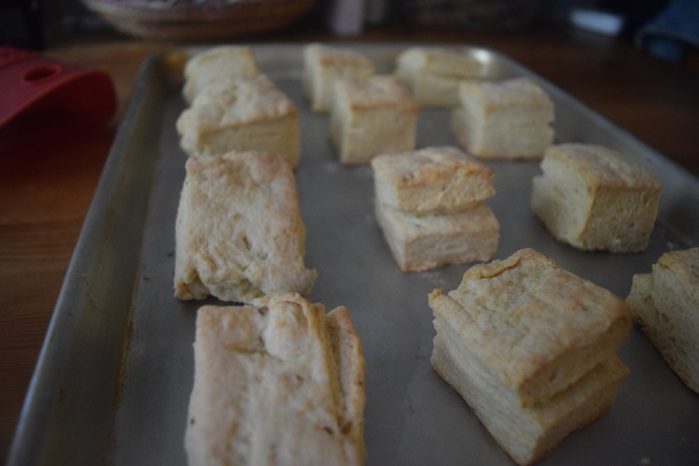 Buttermilk Biscuits With Smoked Cheddar Reciprocity Radio
