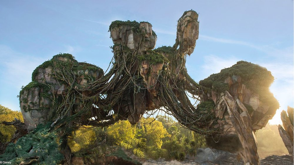 The Floating Mountains of Pandora