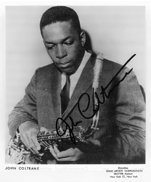 Image result for young jazz great john coltrane