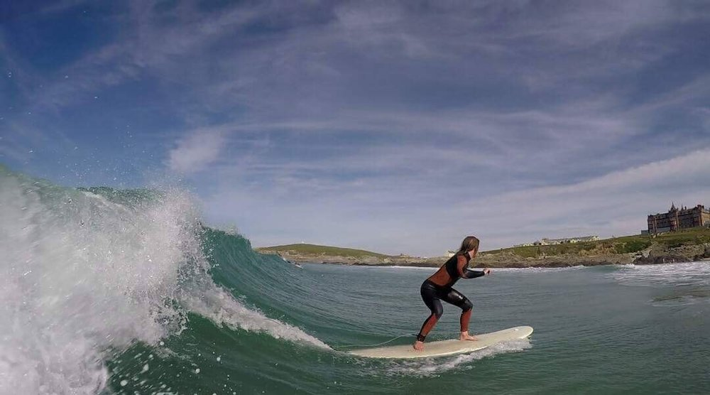 Chasing Dreams, Catching Waves  - An interview with Kernow Surfgirl