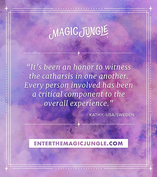 💫Magic happens at retreats, each person was meant to be here! If you are being called by the jungle, listen to that curiosity. There's something there. 🦋 #enterthemagicjunlge