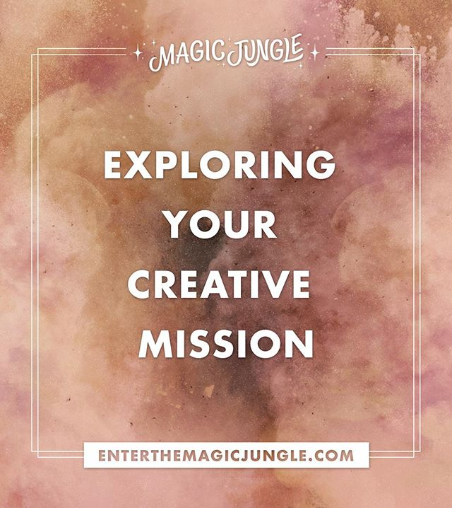 There is so much behind this simple phrase. Our retreats cover many topics but exploring your creative mission is at the center of it all. 🙌🏾 See you in the jungle! 🌴