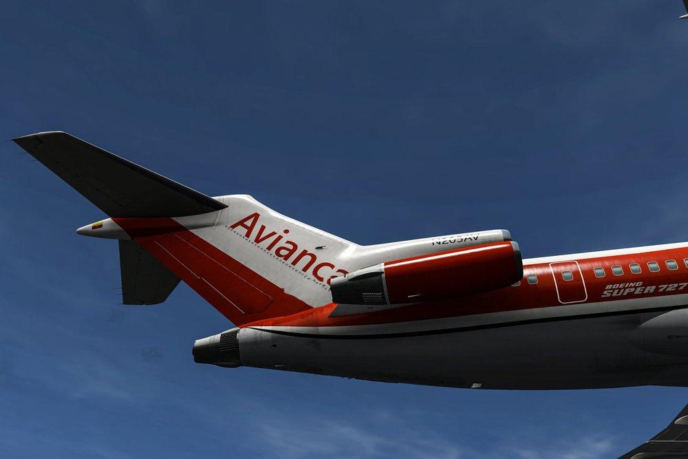 - flyjsim 727v2