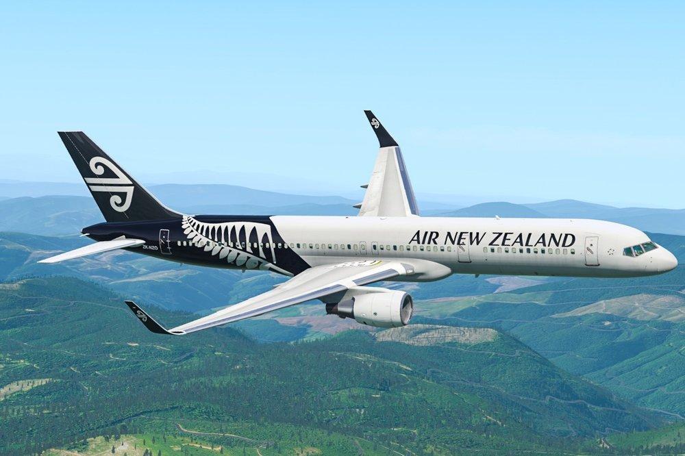 - Air new zealand