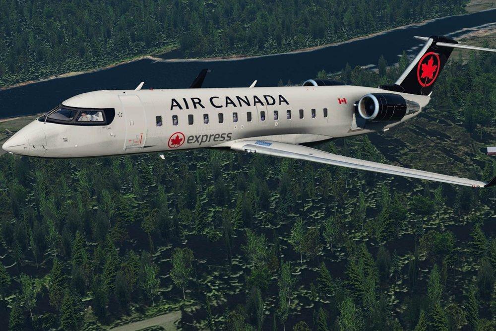 - Air canada express (new)
