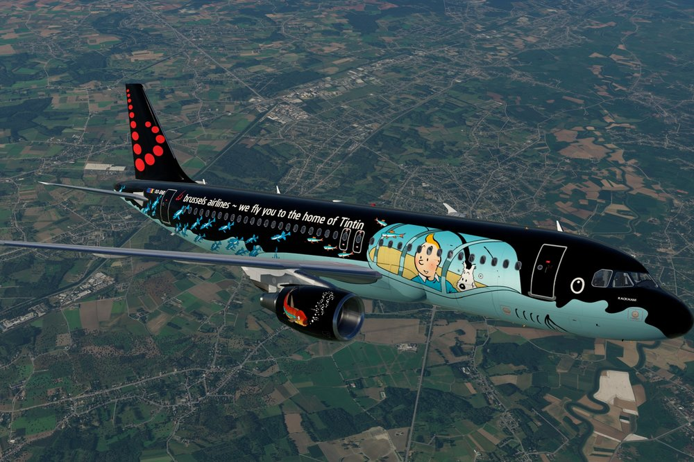 - Brussels airlines(tintin)