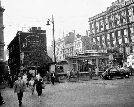 Glasgow's St Enoch Square in the 1950s