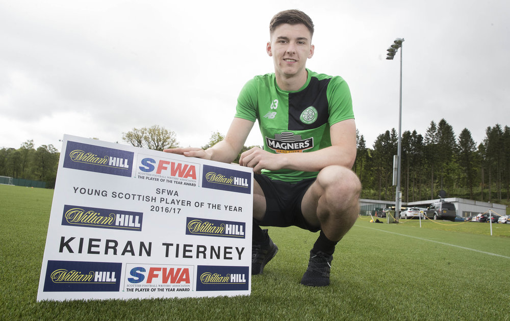 2017 Young Player Kieran Tierney