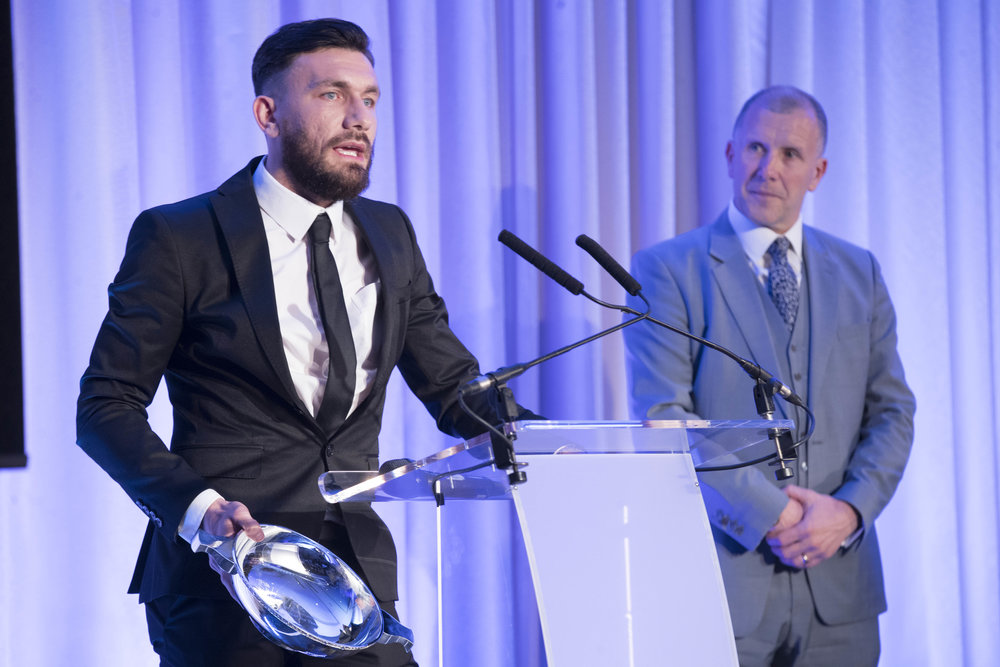 Robert Snodgrass claimed the International Player award for the second time