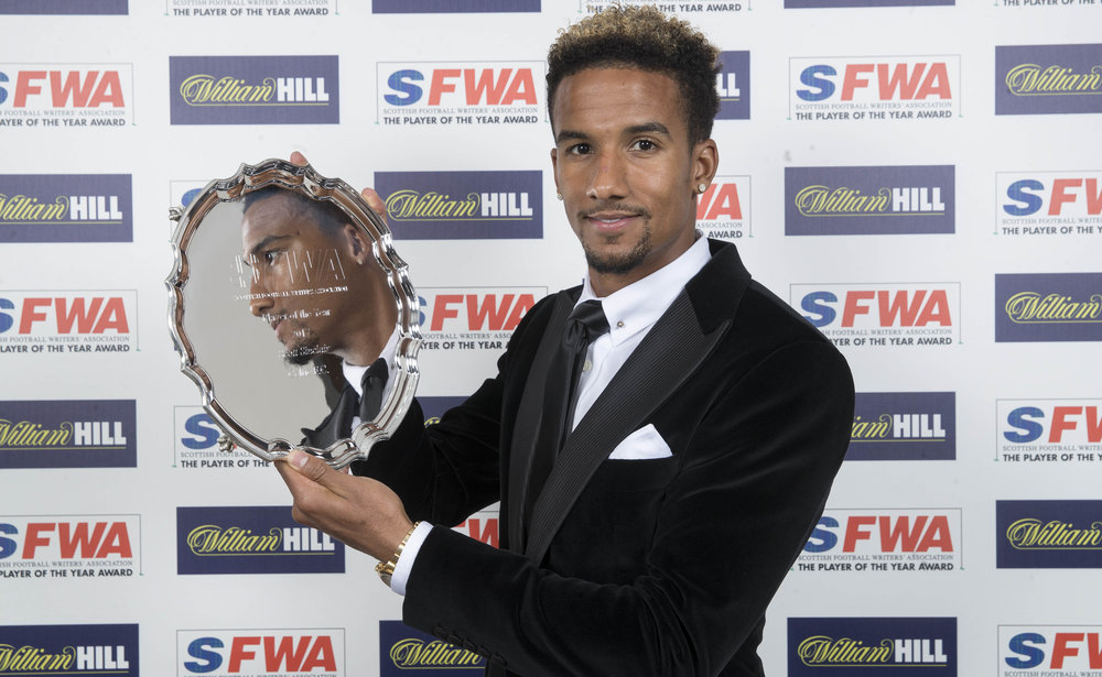 Scott Sinclair's victory as Player of the Year reflected his excellent debut season for Celtic