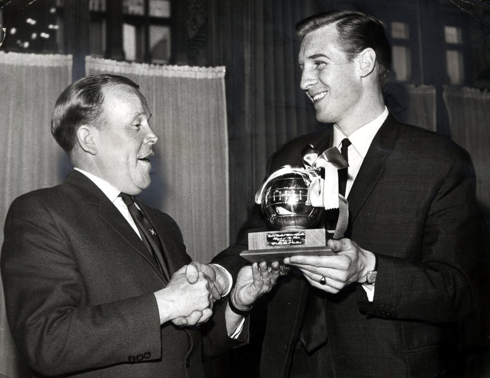 Billy McNeill was the inaugural winner of the Player of the Year award