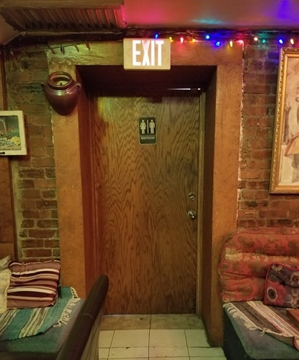 4. Find This Door. Don't Worry, It's A Cover.  -