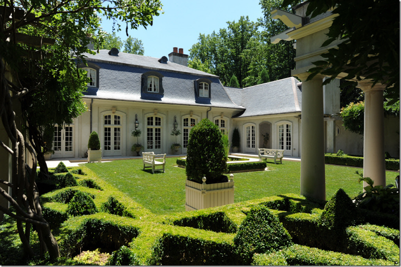 French style home design by Ginny Magher