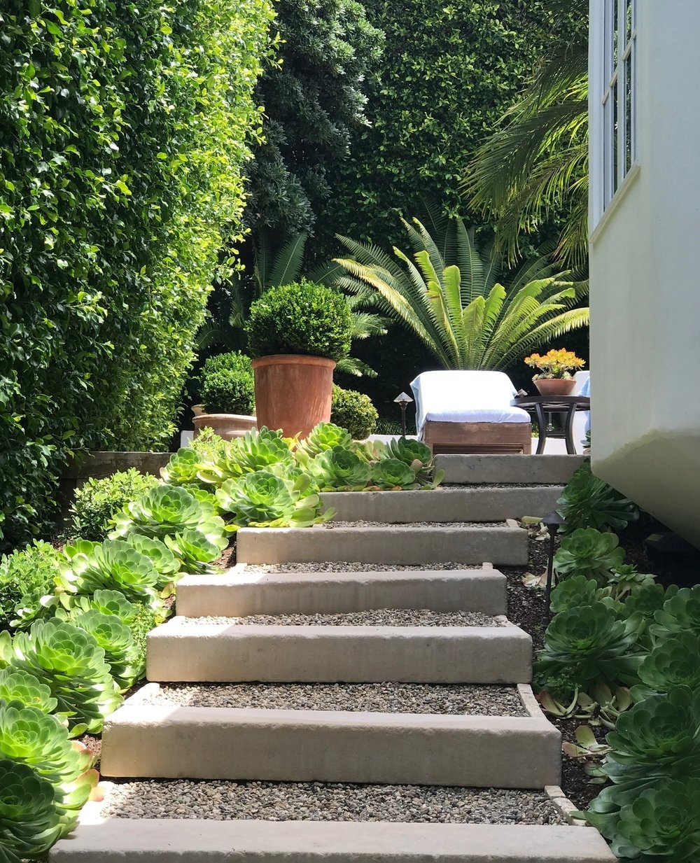 Steps Leading up to Laguna Beach Home and Garden