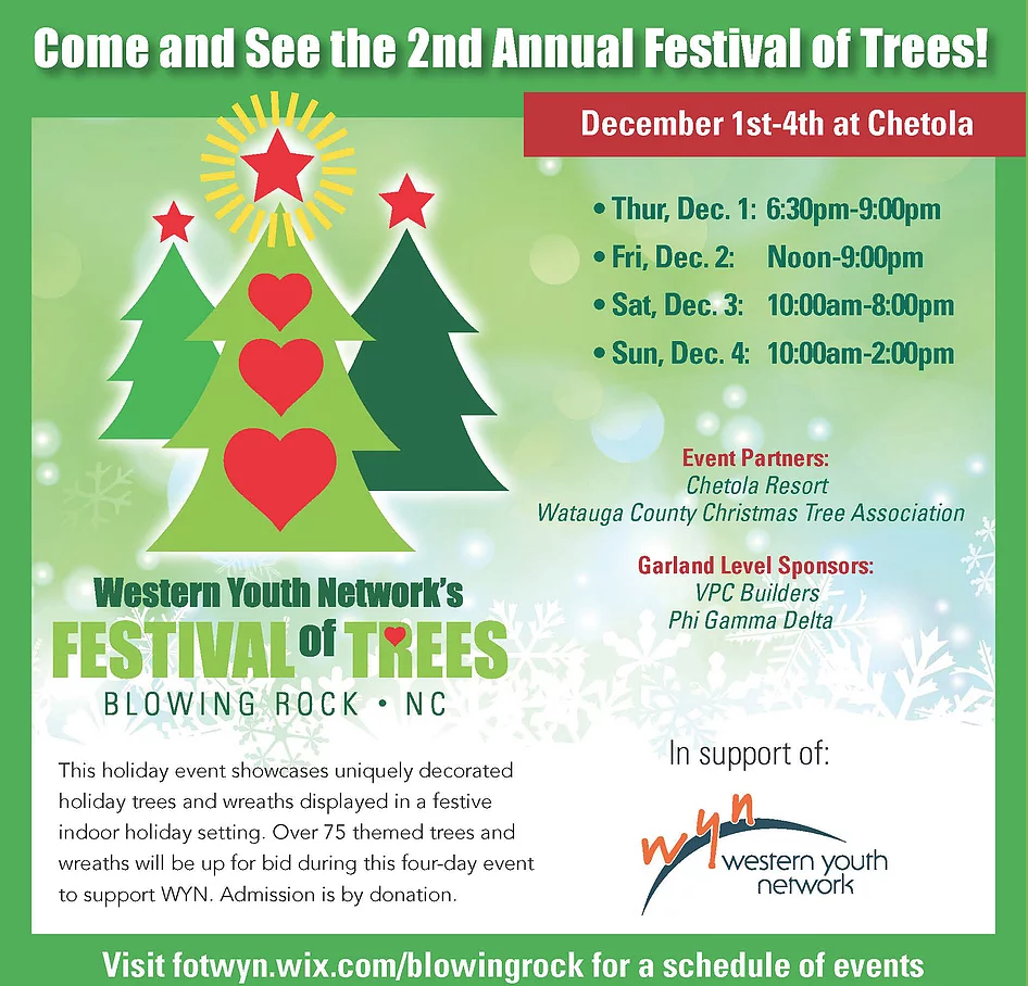 The 2016 Festival of TreesWe raised over $27,000!!!  -