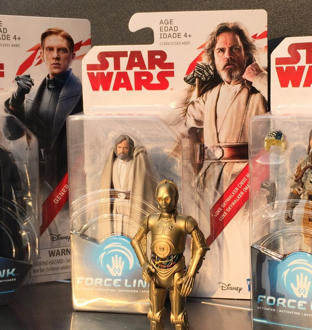 The Last Jedi 3.75 Figures