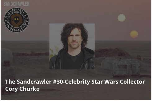Our interview with Kelly Clarkson/Shania Twain guitarist and Star Wars fan and collector Cory Churko!