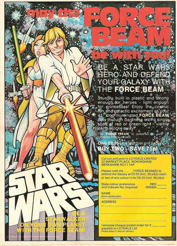 Force Beam Ad