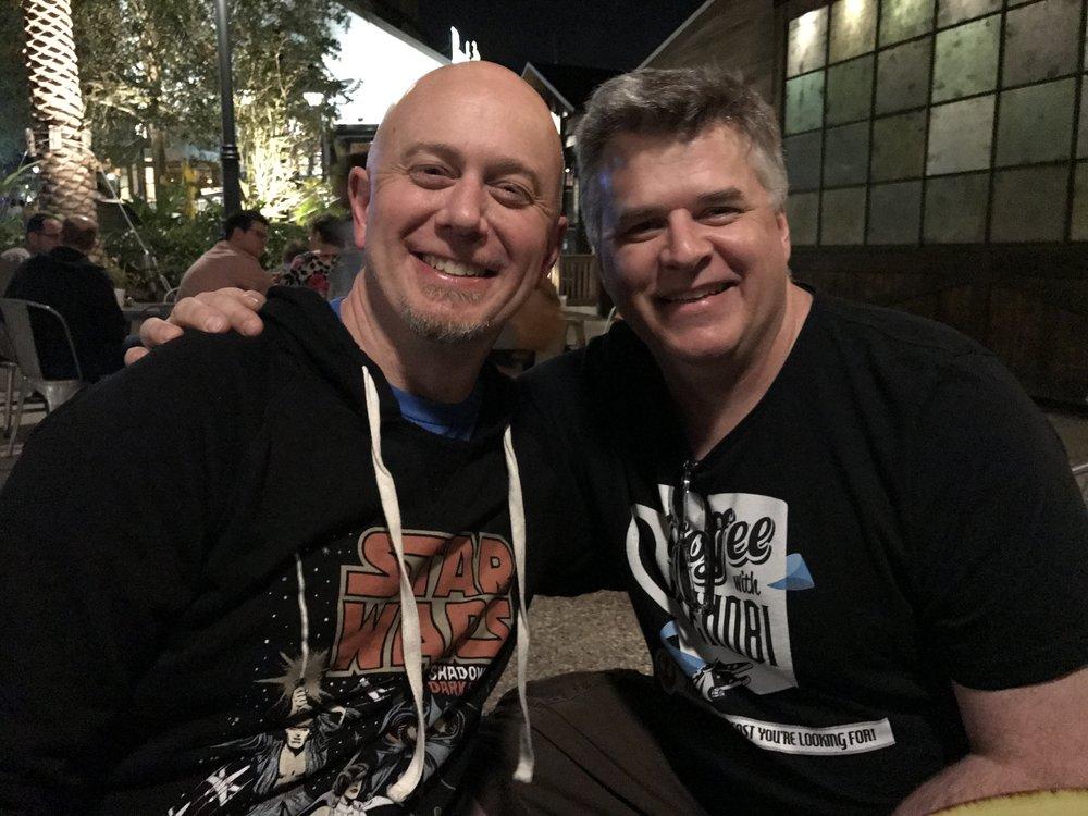 Mike meets TechnoRetro Dad, Jedi Shua