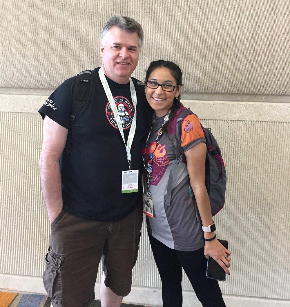 Podcaster, blogger, fellow Disney fan-Teresa Delgado