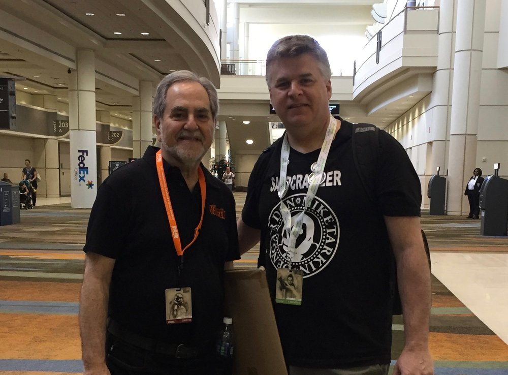 Mike with Stephen Sansweet