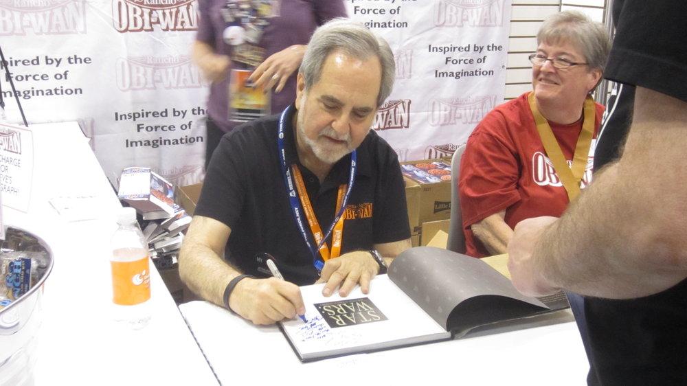 "Mac got an ""updated autograph"" from Steve Sansweet. Listen to the show for details!"